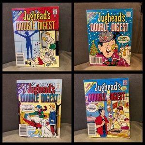 Jughead's double digest bundle of 4 Archie comics